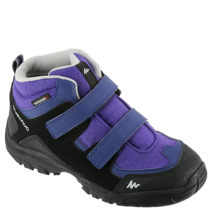 Chaussures de randonnée enfant NH500 Mid imperméables JR corail - 325087