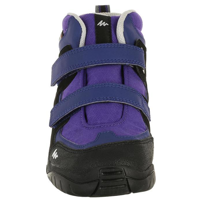 Chaussures de randonnée enfant NH500 Mid imperméables JR corail - 325090