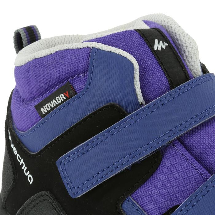 Chaussures de randonnée enfant NH500 Mid imperméables JR corail - 325092