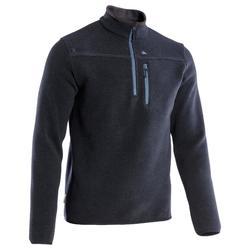 Arpenaz 300 Men's Hiking Pullover - Grey