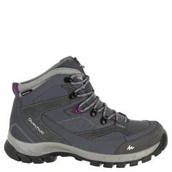 Waterdichte wandelschoenen voor dames Quechua Forclaz 100 high - 326613