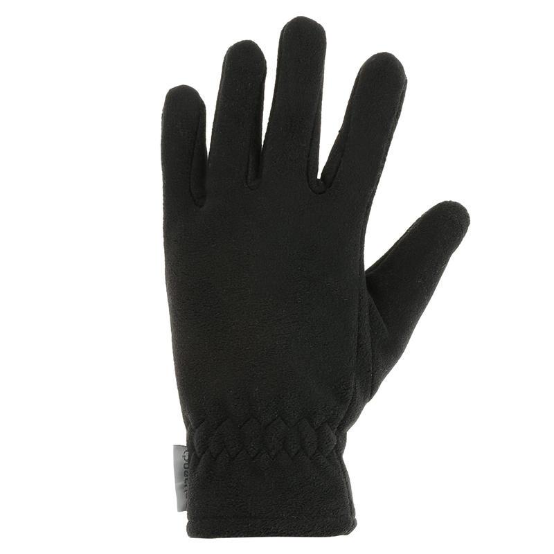 Kids' Hiking Fleece Gloves SH500