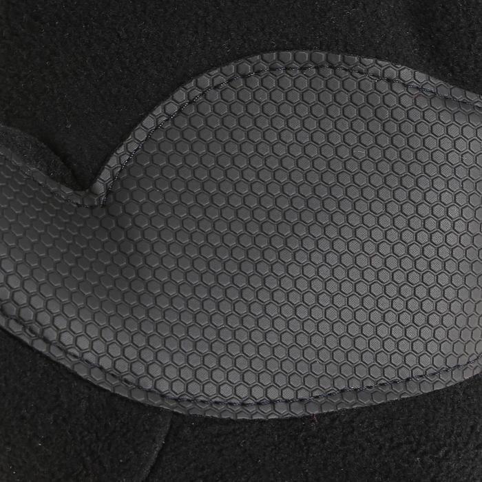 Guantes polares de senderismo júnior SH100 warm negro
