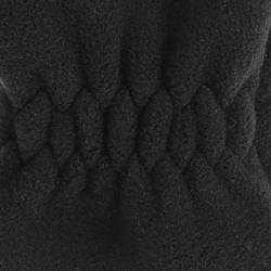 Gants de randonnée MH500 en polaire noir - Enfant