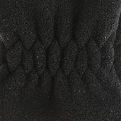 Kids' Hiking Fleece Gloves MH500 - Black