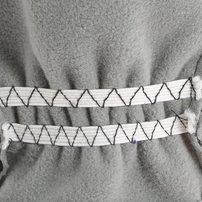 Gants de randonnée enfant MH500 polaire noirs