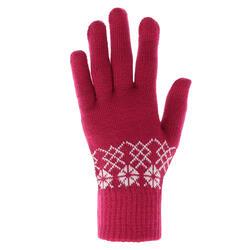 Tactiele handschoenen voor trekking Arpenaz 50, volwassenen