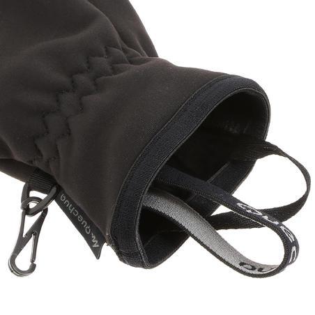 Black Trek 500 junior mountain trekking gloves