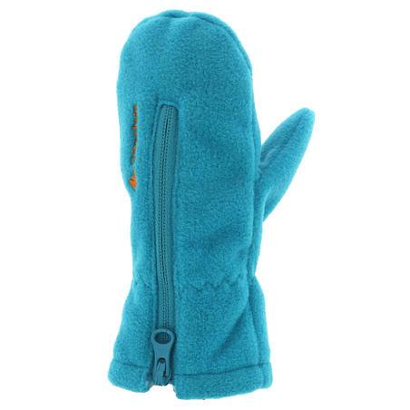 Moufles Polaire Randonnée Bébé Bleu