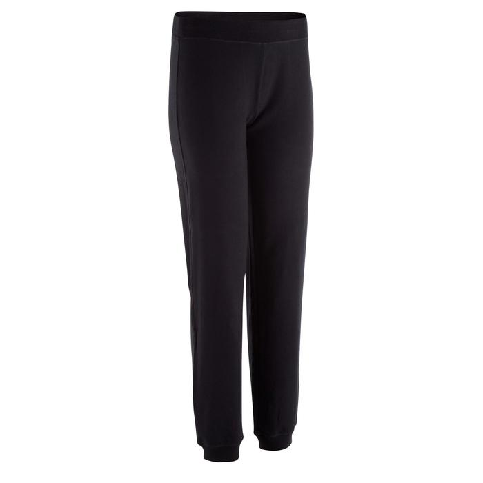 Pantalon bas resserré FIT+ regular, fitness femme - 327942