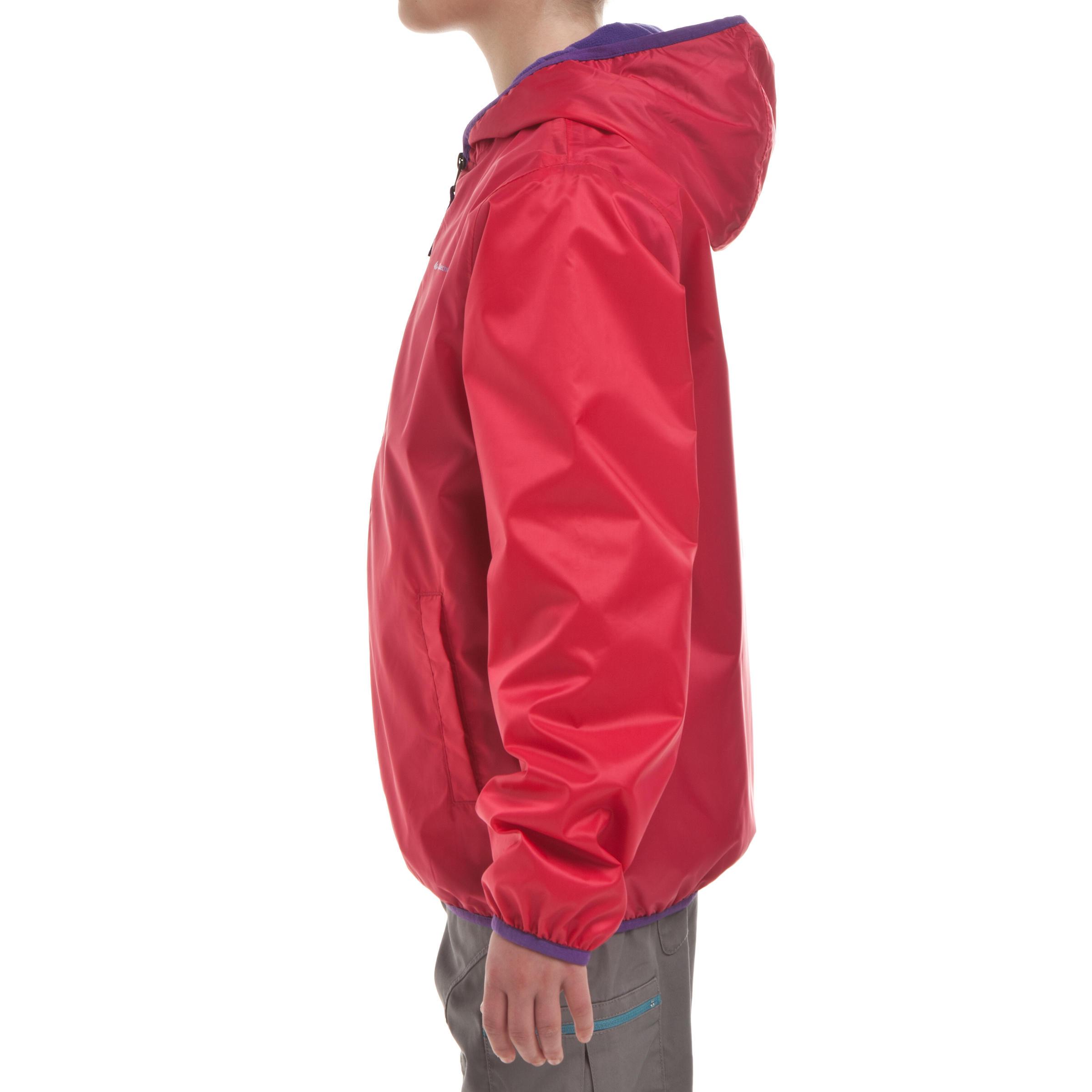 Veste de randonnée neige junior SH50 chaude rose