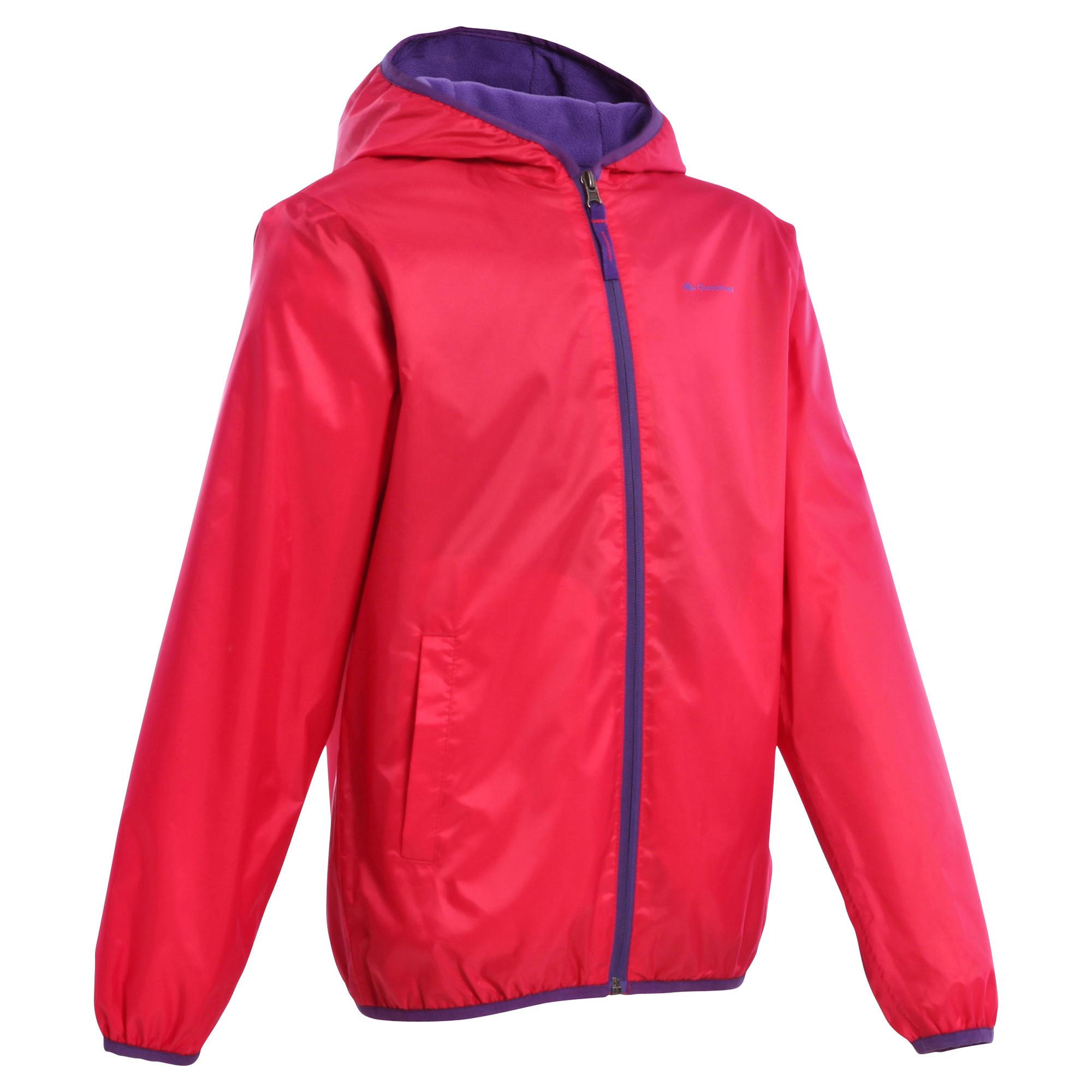 veste chaude imperm able randonn e fille hike 50 warm rose quechua. Black Bedroom Furniture Sets. Home Design Ideas