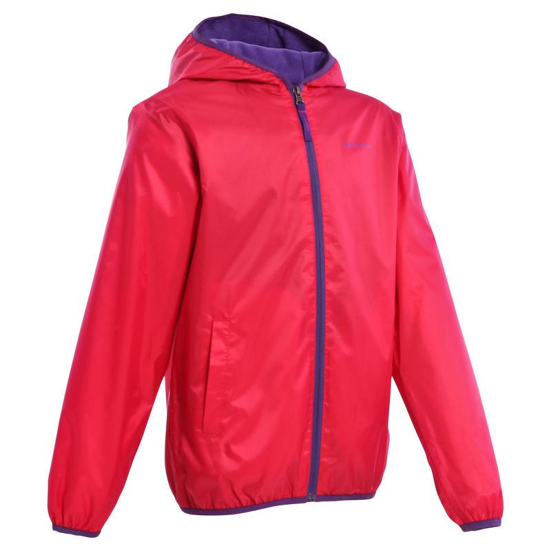 Chaqueta de hiking nieve niño SH50 warm rosada