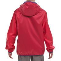 Veste chaude imperméable de randonnée neige SH50 rose - Filles 8-14 ans