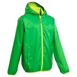 Waterdicht warm jas voor trekking meisjes Hike 50