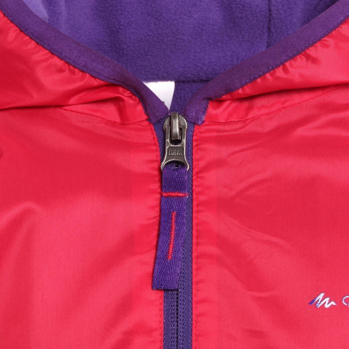 Veste chaude de randonnée neige SH50 WARM fille 8-14 ans rose