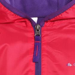 Winterjacke Winterwandern SH50 Warm Kinder Mädchen 128–164cm rosa