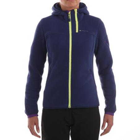 Forclaz 600 women's Hiking Fleece - navy