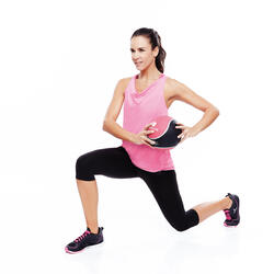 Gewicht voor fitness en krachttraining medicine ball 2 kg - 328790