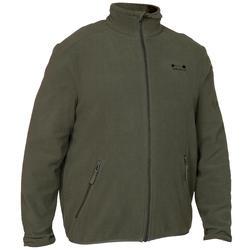 100狩獵刷毛上衣綠色
