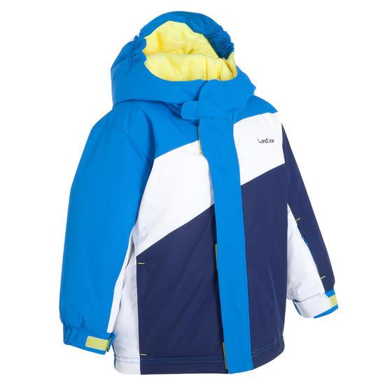 SKI-JAS BABY ONESLIDE blauw / wit - 328904