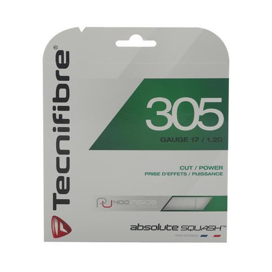 Squashbesnaring Tecnifibre TF 305 1.20 groen. - 329367