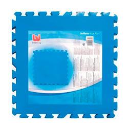 Beschermmatten zwembad uit 8 elementen van 50 x 50 cm
