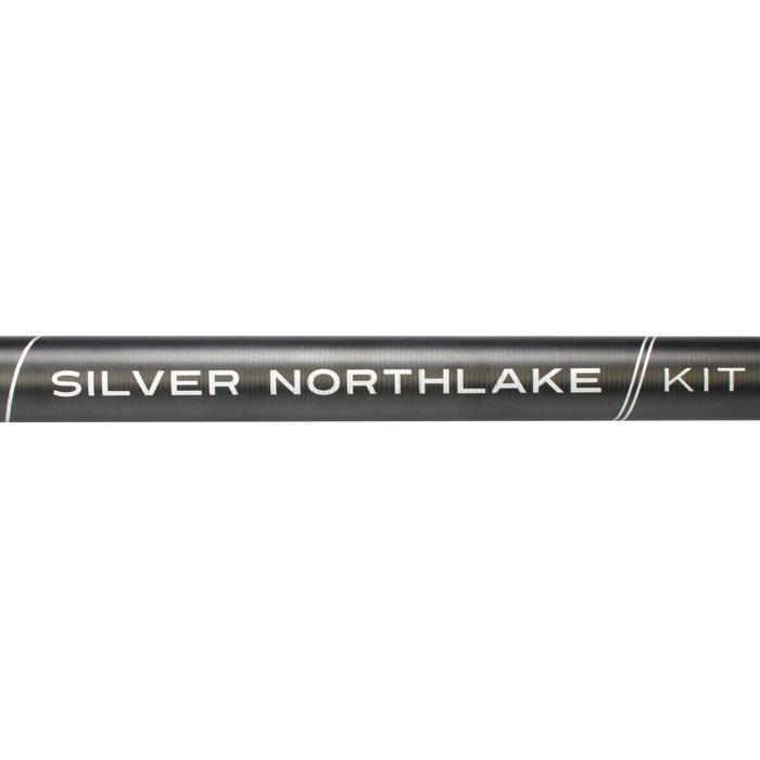 Set insteekhengel voor statisch vissen Silver Northlake