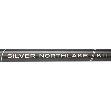 """Surenkamo meškerykočio stacionariai žvejybai rinkinys """"Silver Northlake"""""""