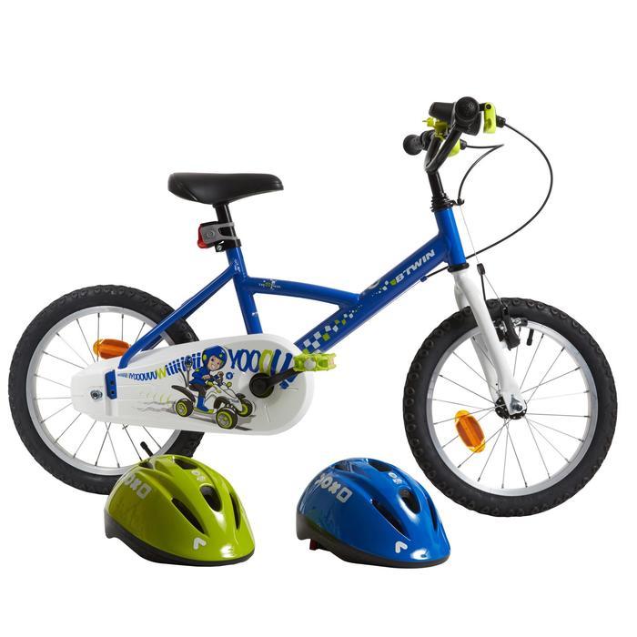Fahrradhelm 300 Kinder blau