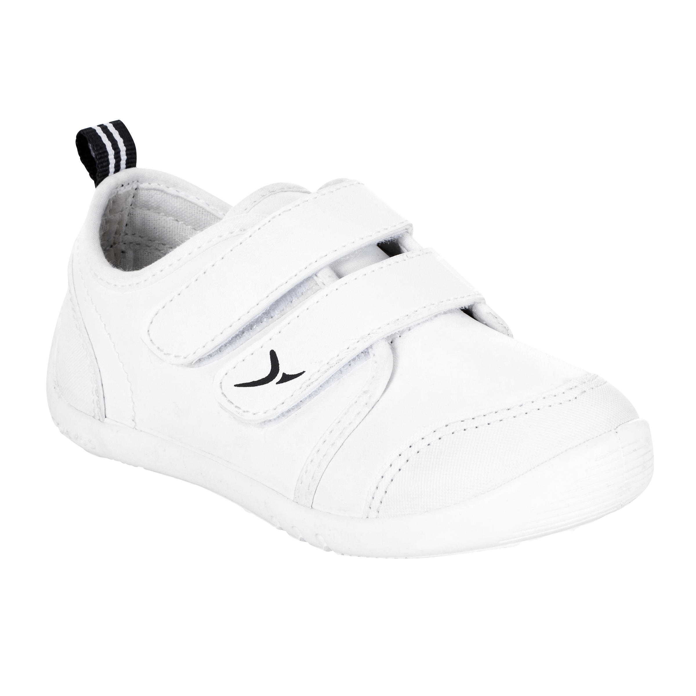 Babygymschoentjes My First Shoes wit