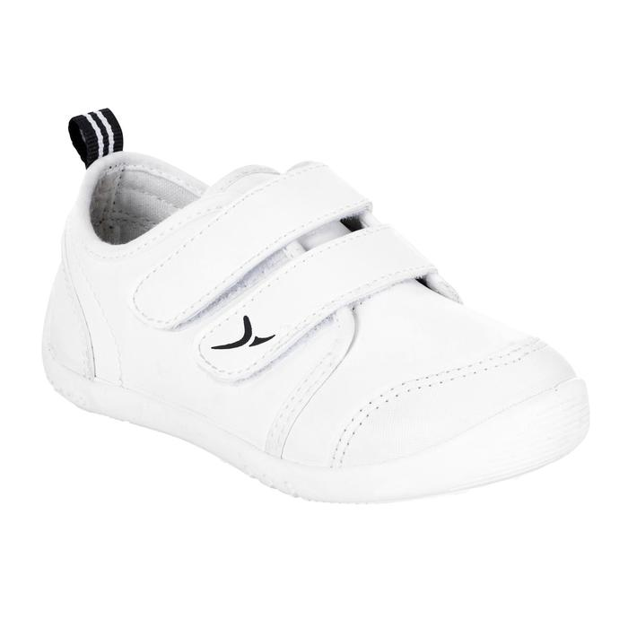 Chaussures Bébé Gym My First Shoes blanches - 332091
