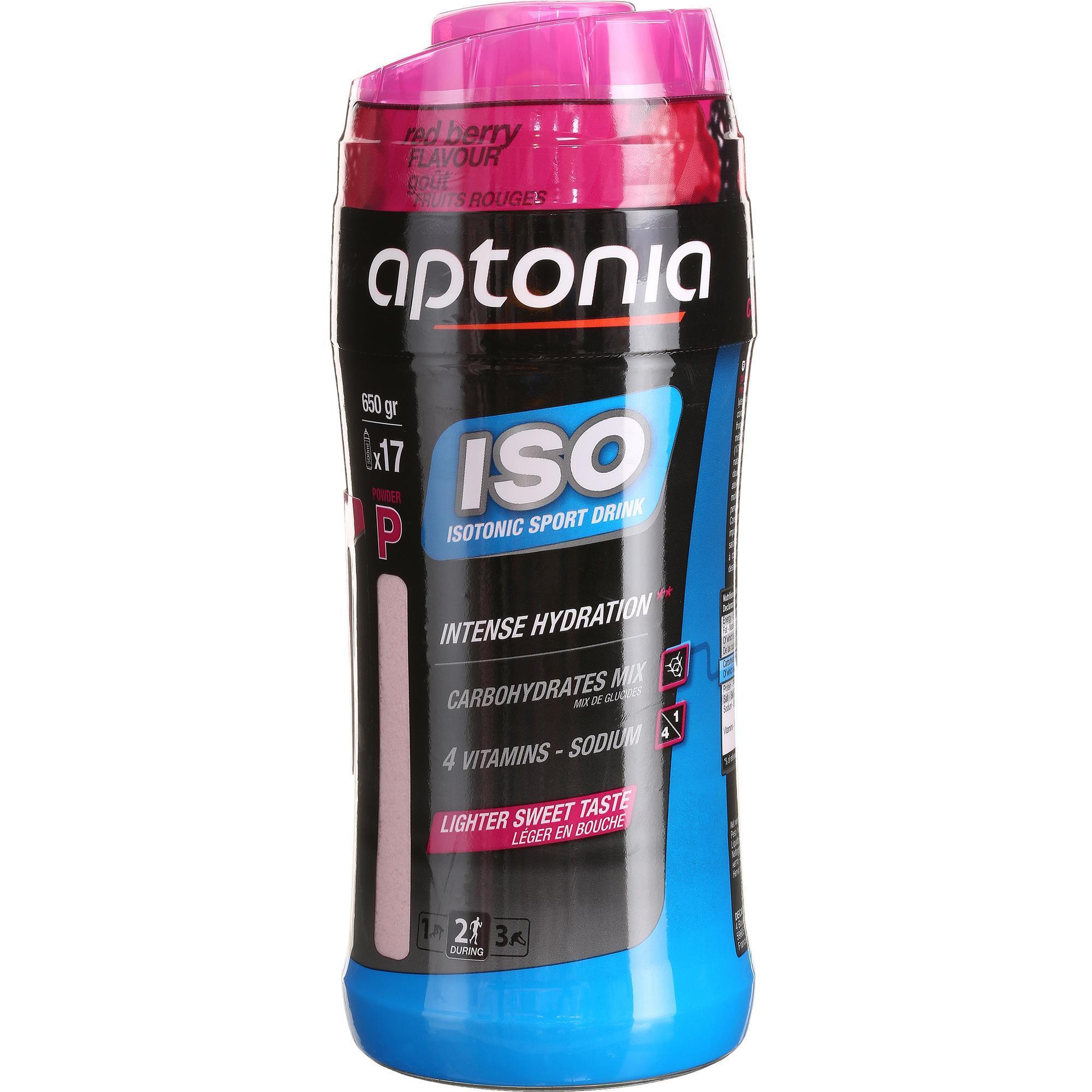 Aptonia Poeder voor isotone dorstlesser ISO rode vruchten 650 g