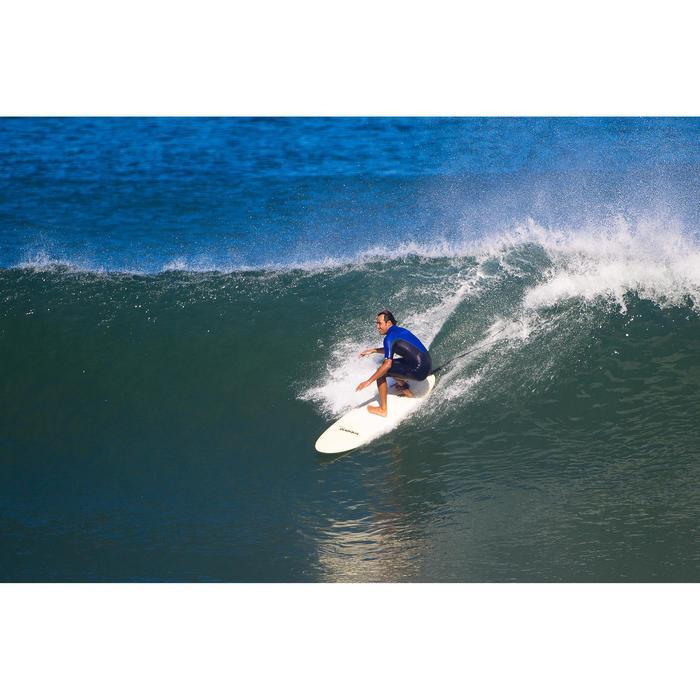 Combinaison Surf shorty 900 Néoprène 2mm Zip Poitrine Homme bleu - 33248
