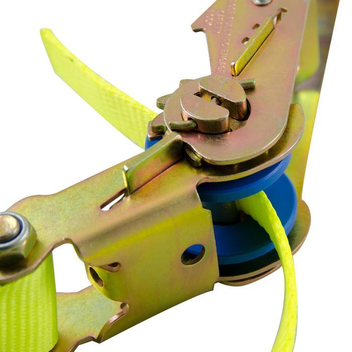 Slackline 25mm x 25m geel