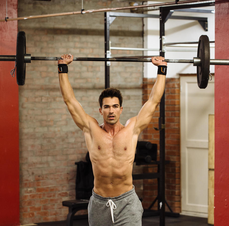 STANDING BARBELL CURL FOR BICEPS