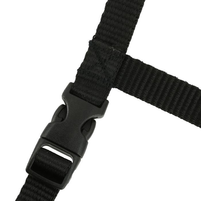 Casco equitación C400 terciopelo negro - tallas 50, 51 y 60 cm