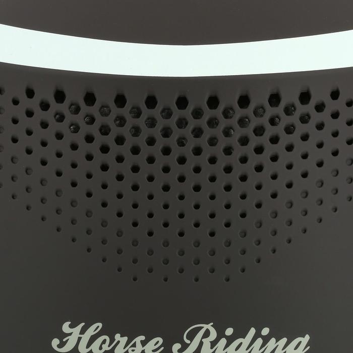 Casque équitation SAFETY CABRIOLE rouge et - 334441
