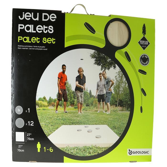 """Wurfspiel """"Jeu de palets breton"""" Set"""