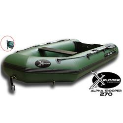 Rubberboot X-Ploder Alpha Trooper 270 voor karpervissen