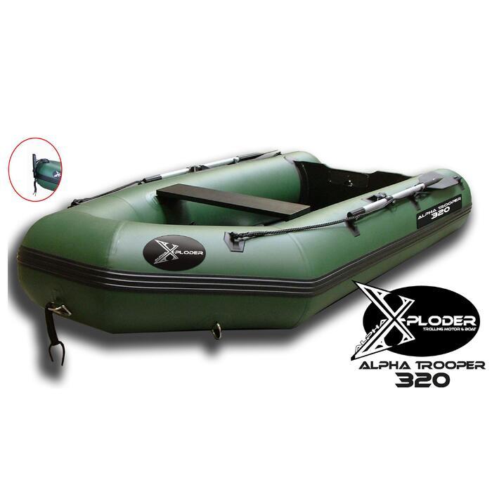 Rubberboot X-Ploder Fischer 320 voor karpervissen