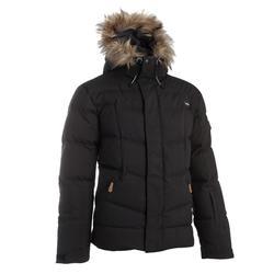 男款羽絨滑雪外套Midslide Warm - 黑色