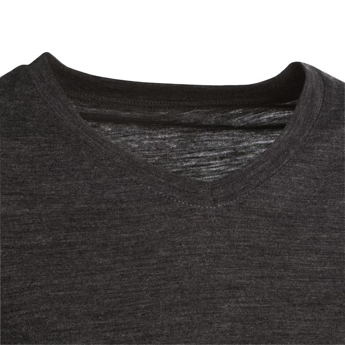 T-shirt manches longues trekking Techwool 155 laine femme - 336205
