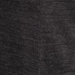 Women's Trekking Merino Wool T-Shirt Travel 100 - Grey