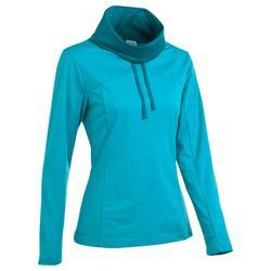 T-shirt voor wandelen in de sneeuw dames SH100 warm