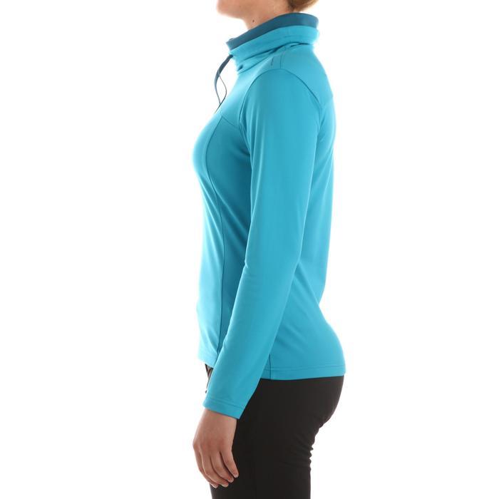 T-shirt voor wandelen in de sneeuw dames SH100 warm - 336287