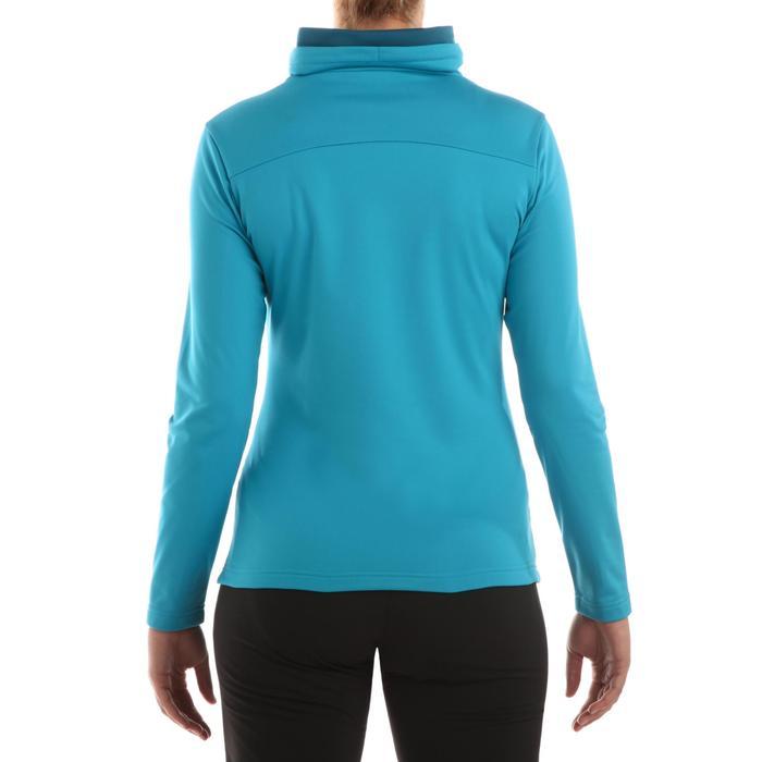 T-shirt voor wandelen in de sneeuw dames SH100 warm - 336289