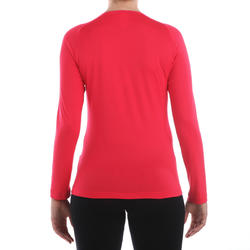 T-shirt lange mouwen trekking Techfresh 50 dames - 336308