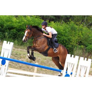 Sangle bavette cuir équitation poney et cheval ROMEO - 336521