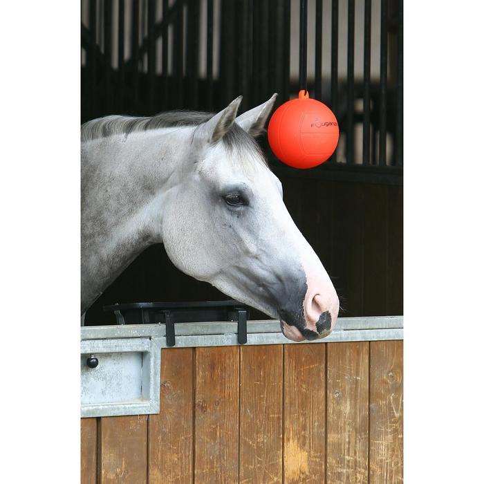 Balón de equitación para cuadra rojo